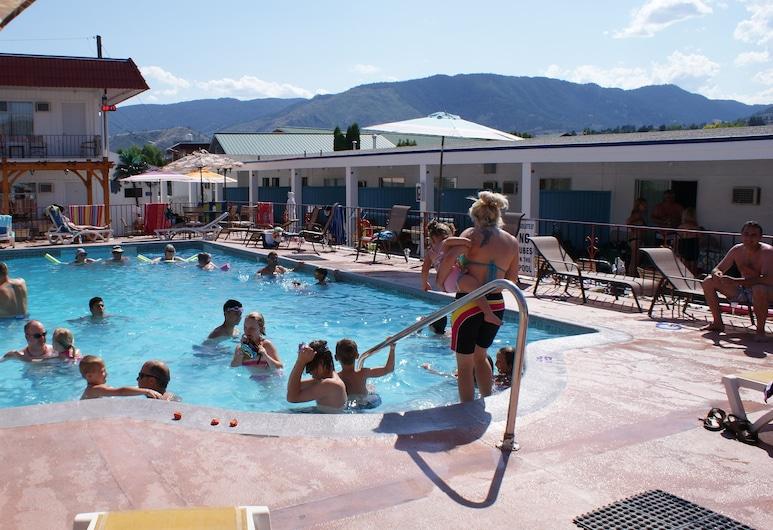 Riverside Motel, Penticton, Outdoor Pool