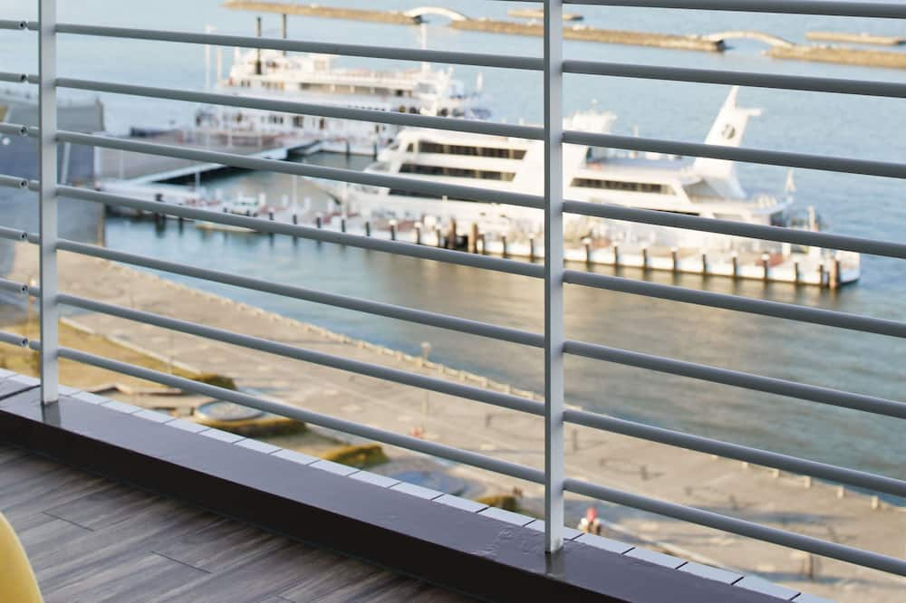 Paaugstināta komforta divvietīgs numurs, nesmēķētājiem, skats uz ezeru (33sqm) - Balkons