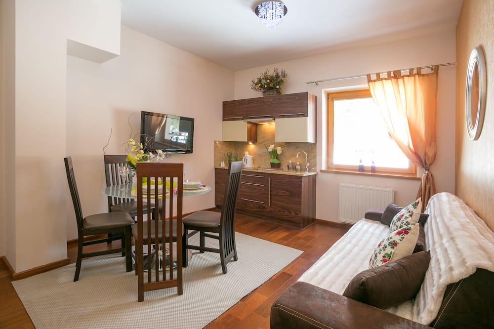 Classic-Studio, 1 Schlafzimmer, Poolzugang - Wohnbereich