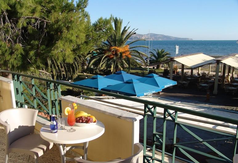 Ignatia Hotel, Argos-Mykines, Quarto Familiar, Varanda, Vista Mar, Varanda