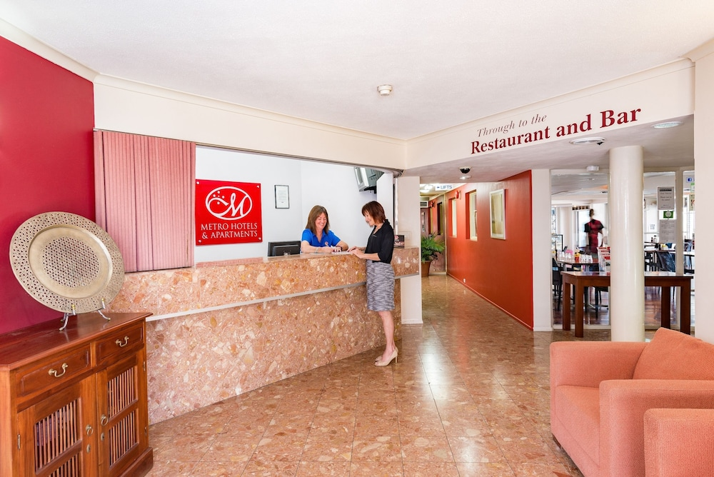 Apartments G60 Gladstone Managed By Metro Hotels Reception