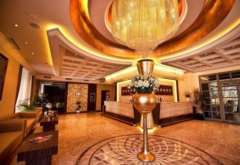 Hotel National, Yerevan, Binnenkant hotel