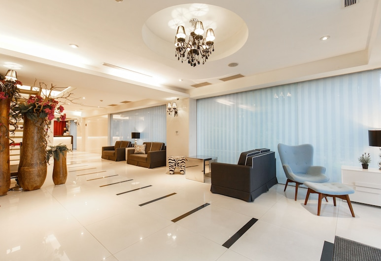 SL MOTEL, Naujasis Taipėjus, Poilsio zona vestibiulyje
