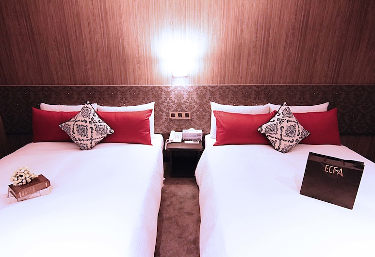 台北天禾精品旅店, 台北市, 四人房, 客房