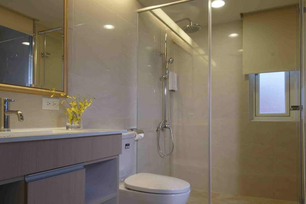 Улучшенный двухместный номер с 1 двуспальной кроватью, 1 двуспальная кровать - Ванная комната