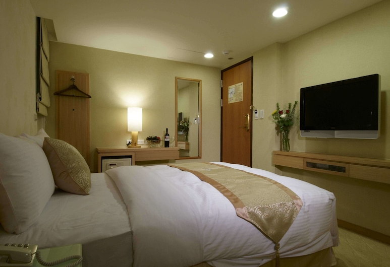 Hotel Color, Jauntaibei, Darījumklases divvietīgs numurs ar papildu ērtībām, 1 divguļamā gulta, Viesu numurs