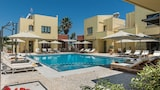 Choose this Apart-hotel in Platanias - Online Room Reservations