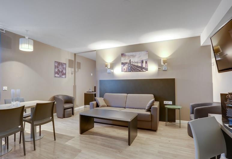 All Suites Appart Hôtel Orly Rungis, Rungis, Superior Studio, Bilik