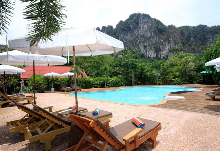 Green View Village Resort, Krabi, Zwembad