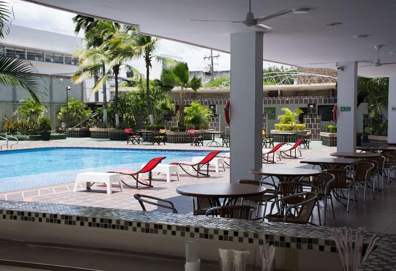 Hotel Tonchala, Cúcuta, Außenpool