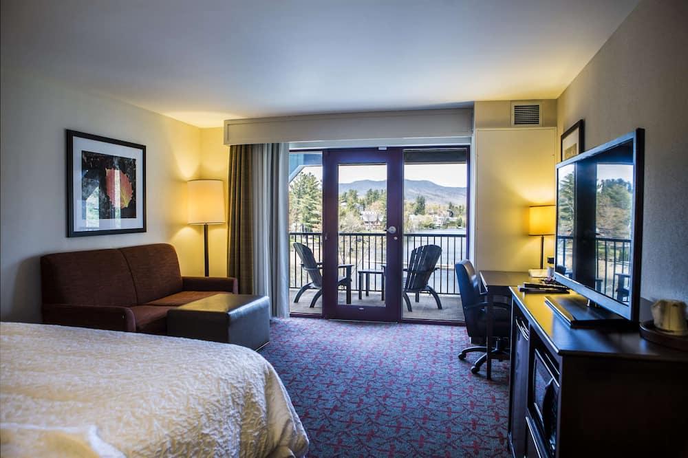 Quarto, 1 cama king-size, Acessível, Não-fumadores - Área de Estar