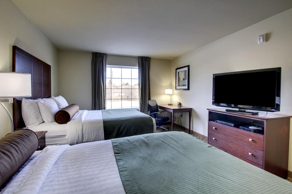 غرفة - سريران كبيران - لغير المدخنين - غرفة نزلاء