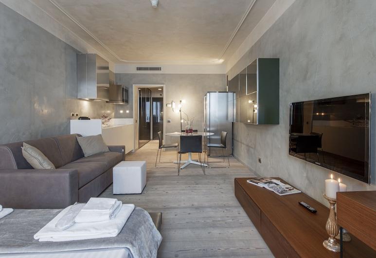 Milan Royal Suites & Luxury Apartments, Milano, Süit (Bethoven 6 - Via Romagnosi 4), Oda