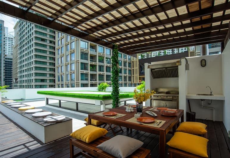 ベンヴィアー トンソン レジデンシス, バンコク, Presidential Suite, テラス / パティオ