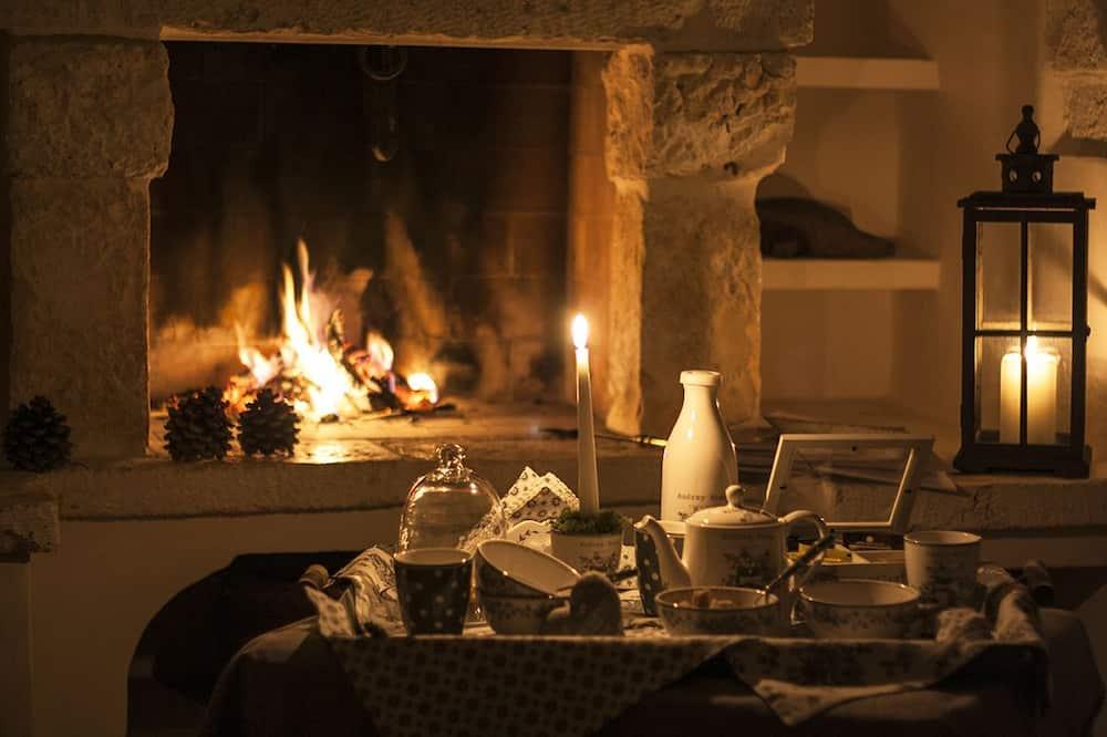 豪華套房 (Trullo) - 客廳