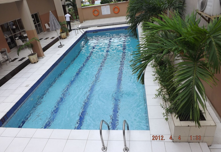 Claridon Hotels & Resorts, Port Harcourt, Kolam Terbuka