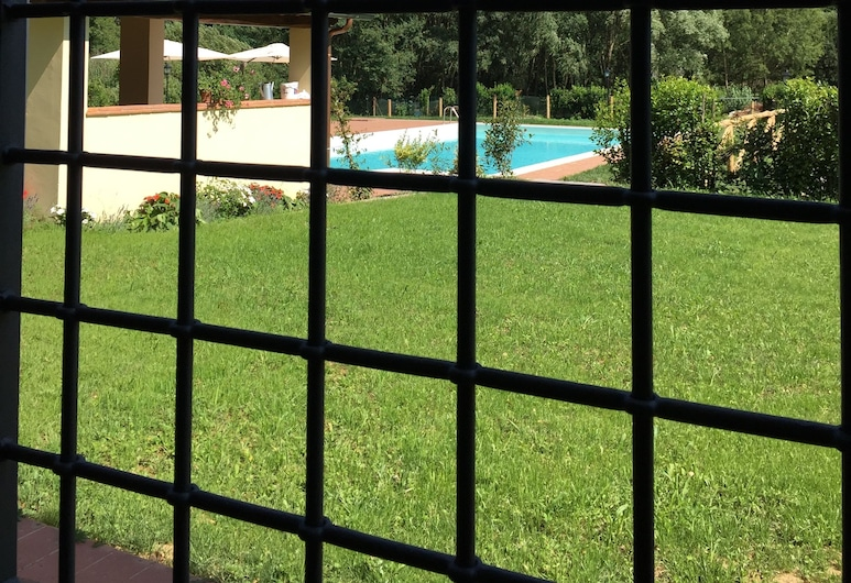 Casale La Fata, Camaiore, Apartemen (Serenella), Pemandangan Kebun