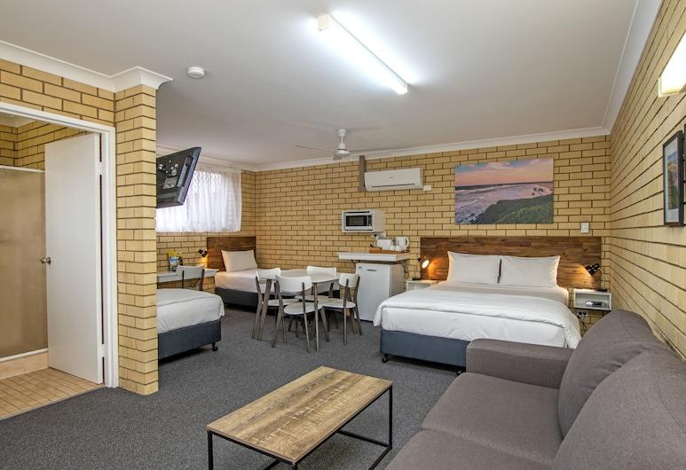Coast Inn Motel, Ballina, Chambre Familiale (Large), Chambre
