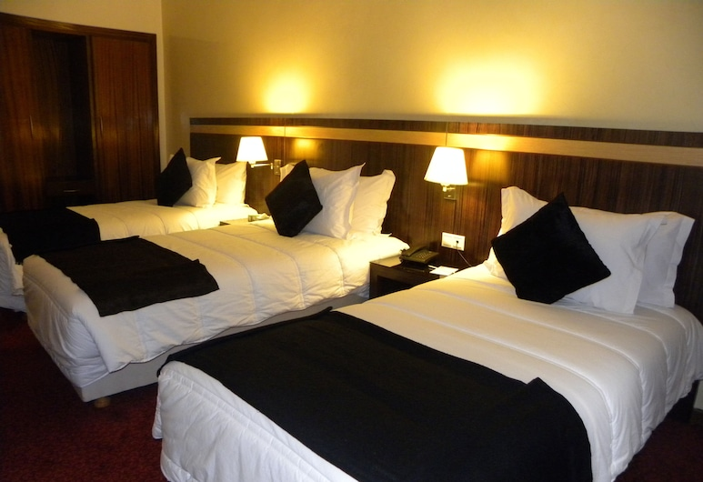 Rive Hôtel, Rabat, Tremannsrom, Gjesterom