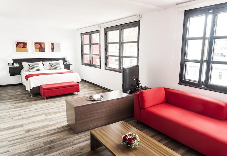 Hotel Bogotá Virrey, โบโกตา, ห้องจูเนียร์สวีท, ห้องพัก