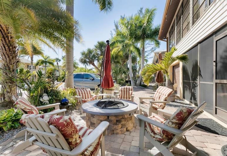 #1 Island Hideaway, Fort Myers Beach, Terraço/Pátio Interior