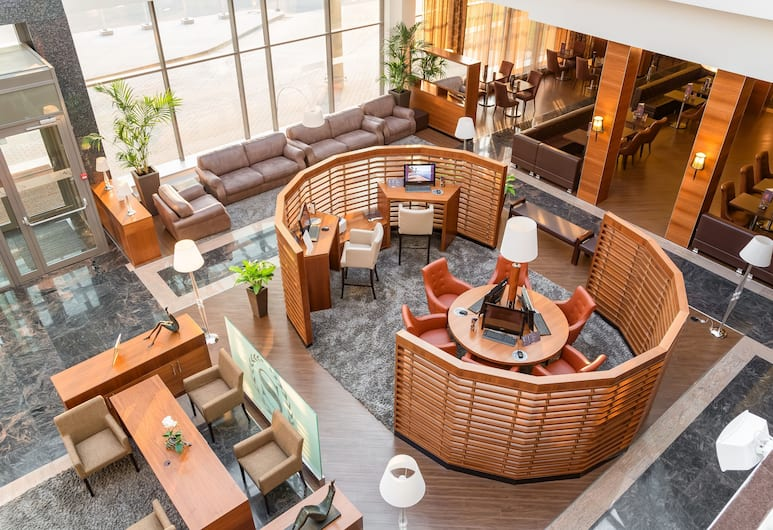 Sheraton Moscow Sheremetyevo Airport Hotel, Moscow, Lobby