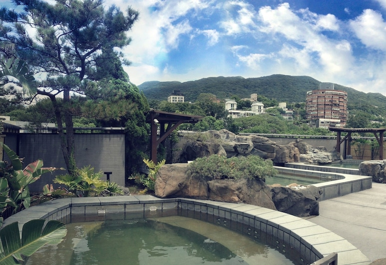 Spa Spring Hotel, Taipei, Teres/Laman Dalam