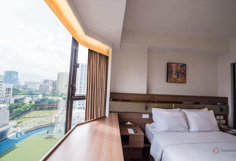 Travelodge Kowloon, Kowloon, Deluxe City View Room, Guest Room