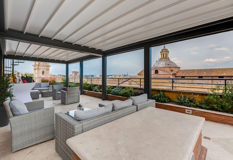 Navona Queen Rooftop, Rim, Terasa/trijem
