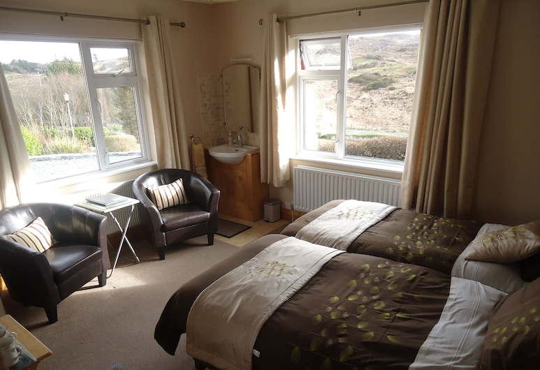 Atlantic View B&B, Clifden, Classic Twin Room, Bilik Tamu