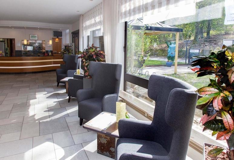 Seehotel Grunewald, Berlin, Lounge i lobbyn