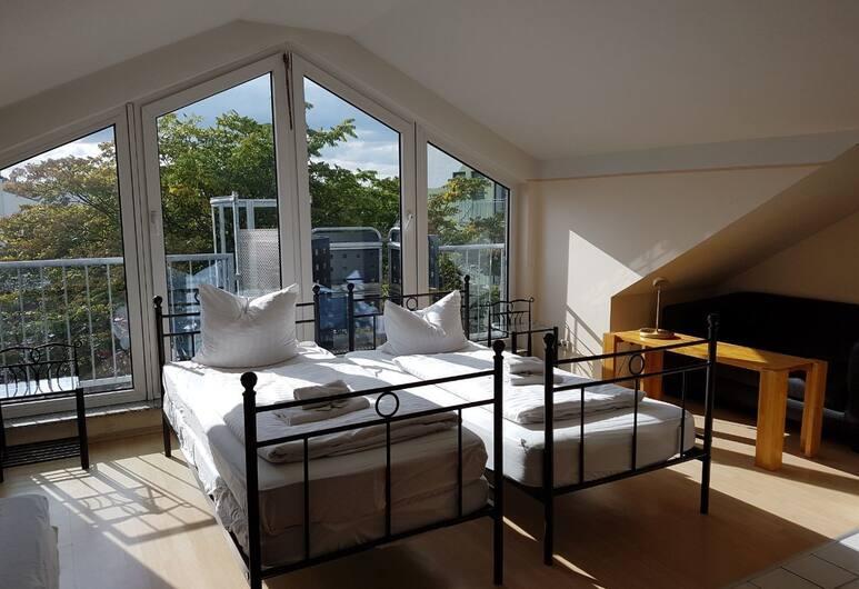 GZ Aparthotel Köln, Cologne, Phòng 3, Khu phòng khách