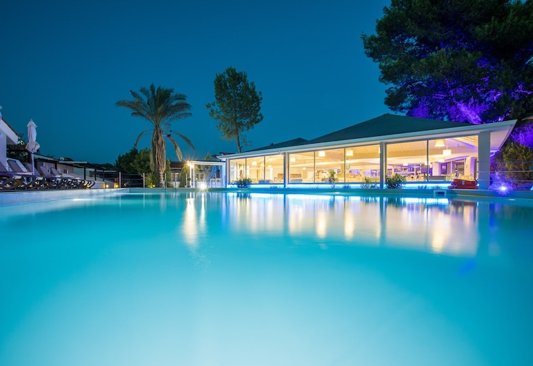 Coral Blue Beach Hotel, Πολύγυρος, Εξωτερική πισίνα