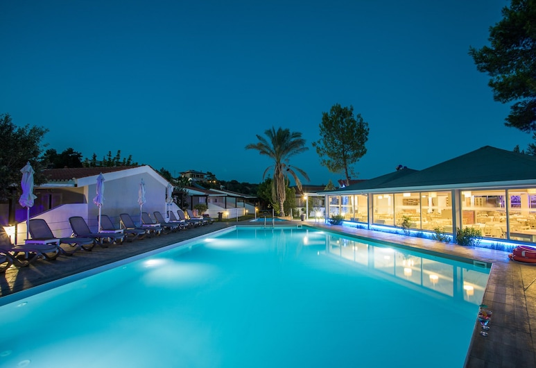 Coral Blue Beach Hotel, Polygyros, Piscina Exterior