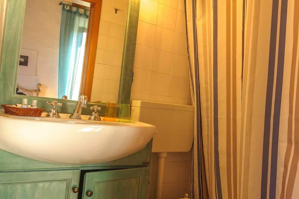 Quarto Duplo Romântico, Vista Colina - Casa de banho