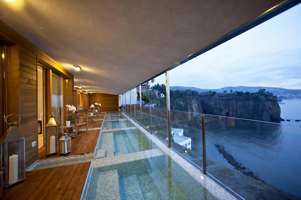 Pokoj typu Deluxe, výhled na moře (Free Spa) - Terasa
