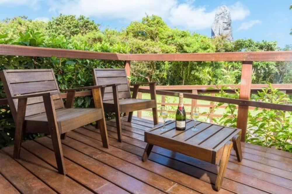 Premium bungalow, Meerdere bedden, niet-roken - Balkon