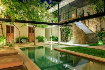 A(z) Koox Casa de las Palomas Boutique Hotel hotel fényképe itt: Merida