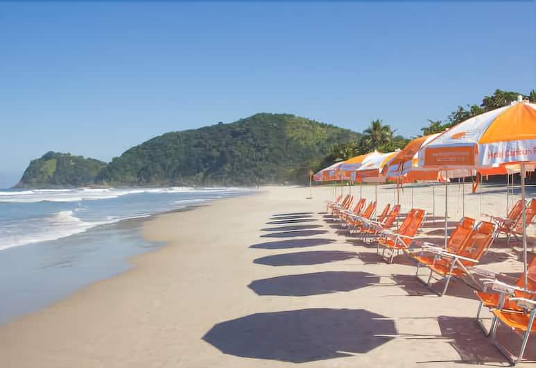 Hotel Camburi Praia, São Sebastião, Strand