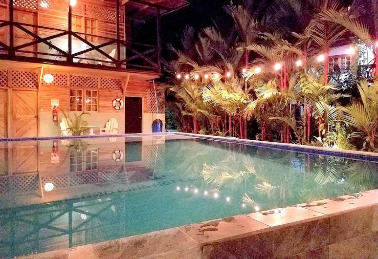 Lizard King Resort, Puerto Viejo de Talamanca, Basen odkryty