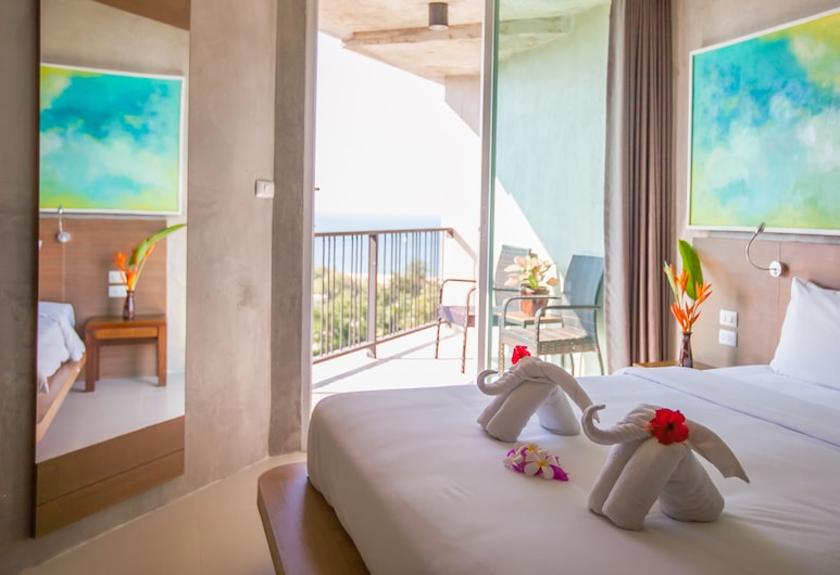 B2 Sea View Pattaya Boutique & Budget Hotel, Sattahip, Superior Premier Sea View, Guest Room