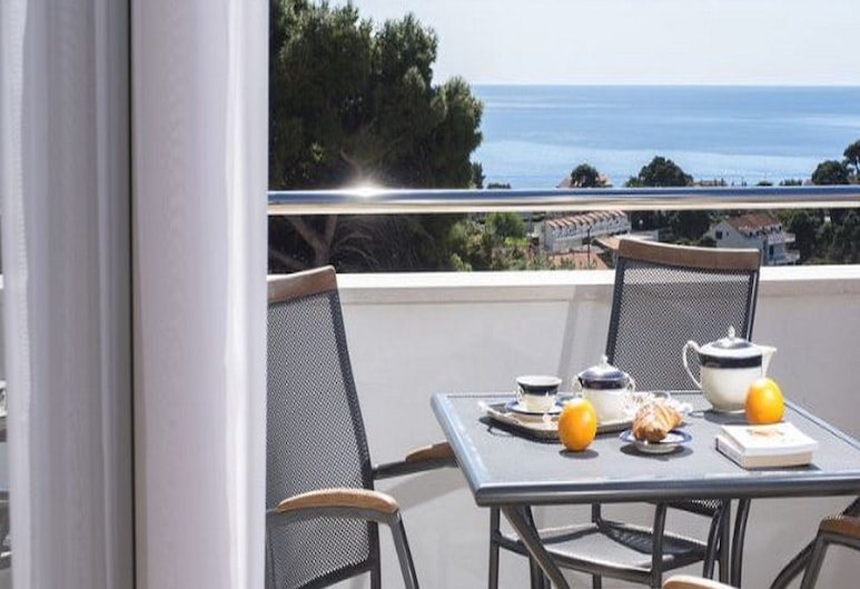 Apartments Milka & Miho, Dubrovnik, Estúdio, Sacada, Vista para o mar, Varanda