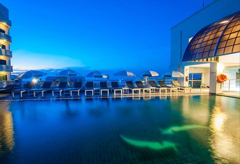 Flipper House Hotel, Pattaya, Pool