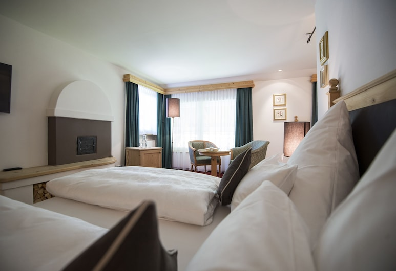 Hotel Acadia - Mountain Home - Adults Only, Selva di Val Gardena, Suite – junior (Romantic), Gjesterom
