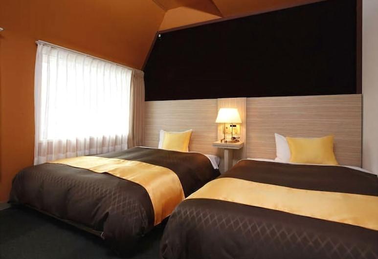 Hotel 1-2-3 Kobe, Kobe, Twin Room, Non Smoking (120cm beds, check in until Midnight), Bilik Tamu