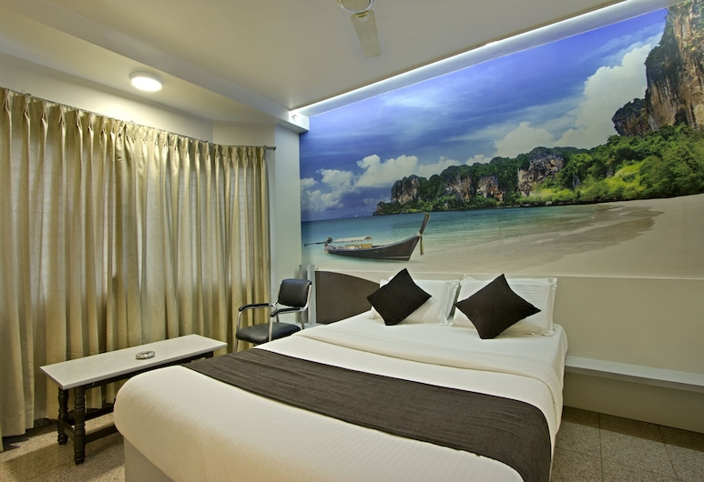 Mannars Residency, Mysore, Deluxe Double Room, Bilik Tamu
