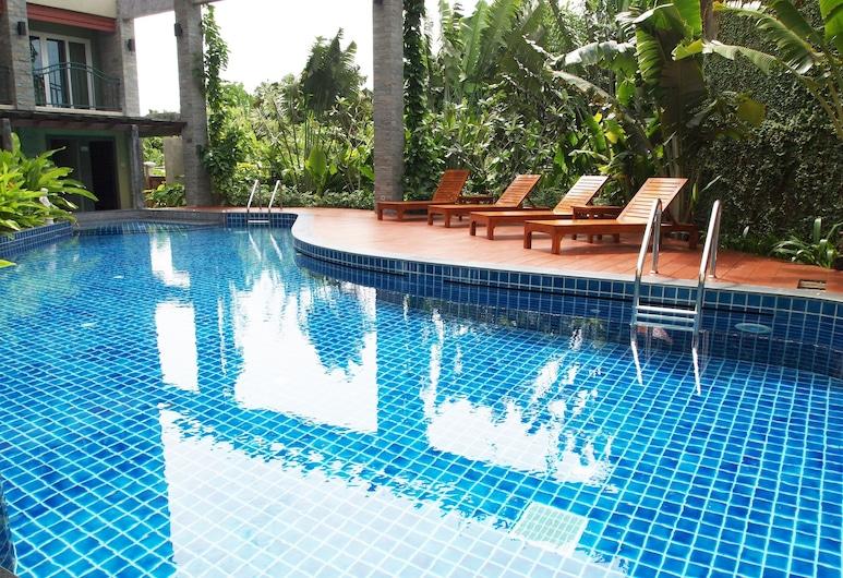 푸켓 에코지 호텔, 위칫, 야외 수영장