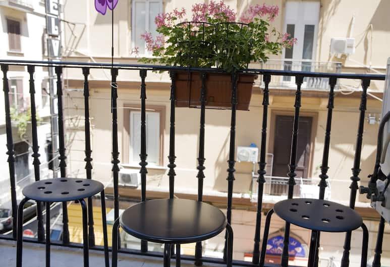Hotel Cine Holiday, Naples, Standard Double Room, Balcony