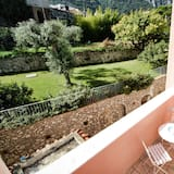 Standardní pokoj s dvojlůžkem, výhled do zahrady - Balkón