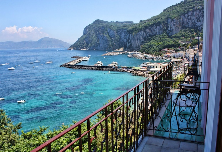 Capri Inn, Capri, Deluxe Double or Twin Room, Sea View, Balcony